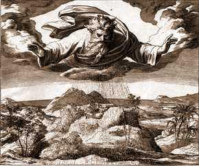 Библейско-космогоническая теория происхождения земли